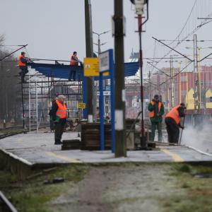 dworzec perony